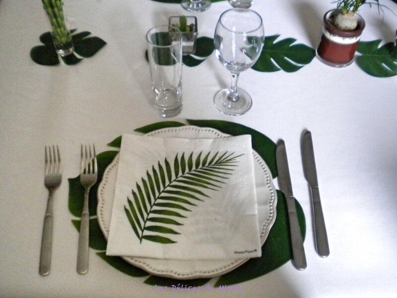 Ma table Urban Jungle 3
