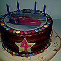 Gâteau Cars 30 personnes 25 cm 1