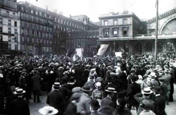 Mobilisation Paris