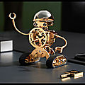 Sherman - horloge robot - mb & f - + video