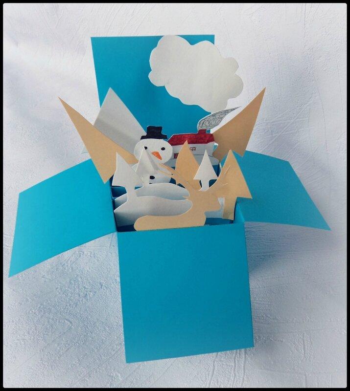 carte de Noël Cam&Drey bricolent