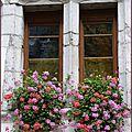 ♥ belles façades fleuries dans le vieil annecy ♥