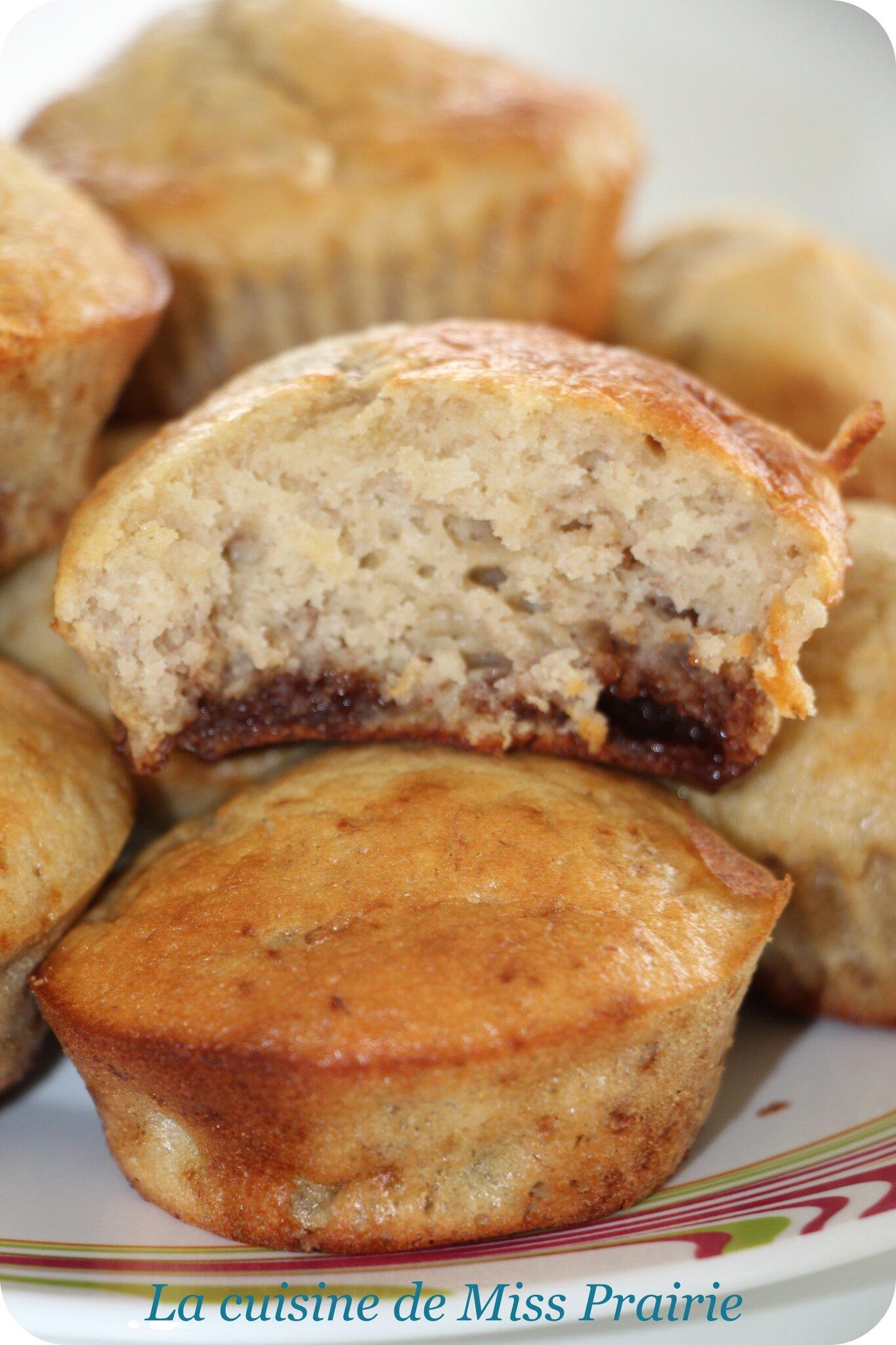 Muffins aux bananes et aux Daim