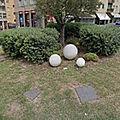 Rond-point à cagliari (sardaigne)