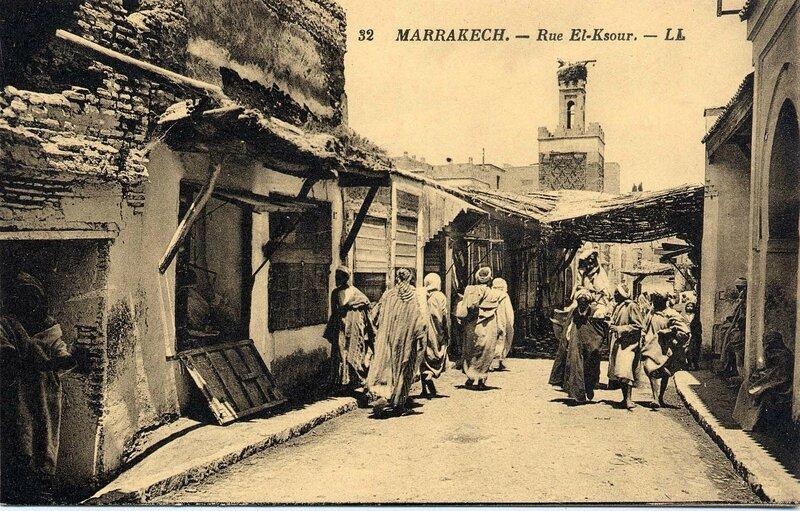 32LL-CP M'Kech ancien_Derb El Ksour 01