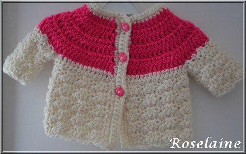 Roselaine 21 crochet brassière