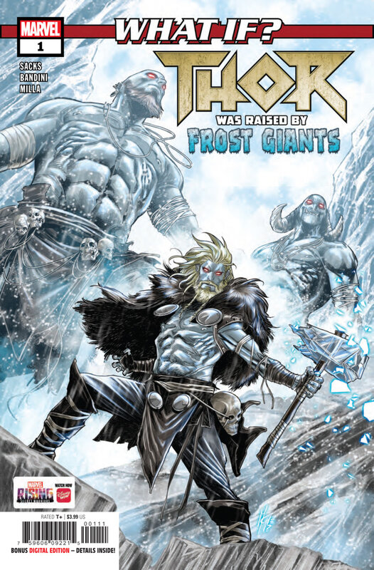 what if thor was raised by frost giants
