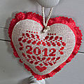 coeur nouvel an