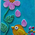 L'oiseau et la fleur: