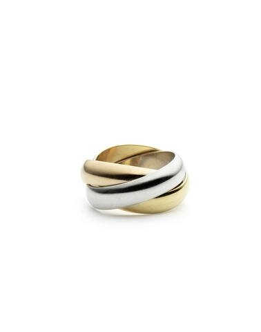 A Trinity ring, by Cartier