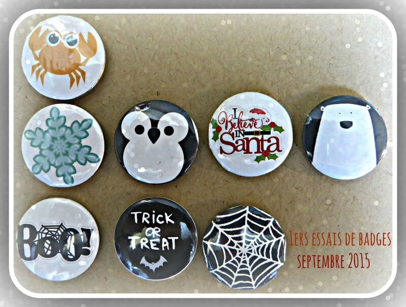 badges septembre 2015