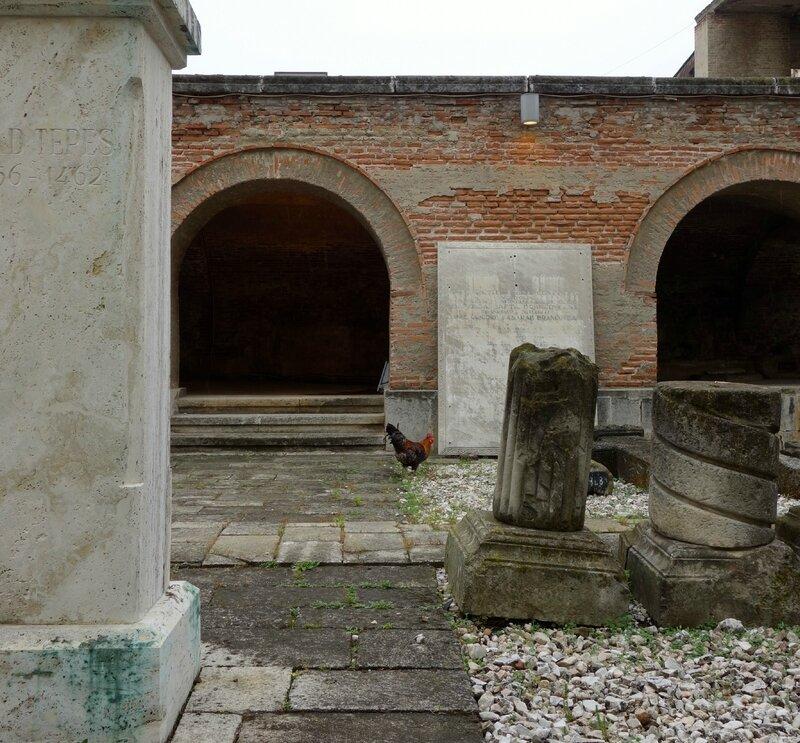coq dans Curtea Domneasca