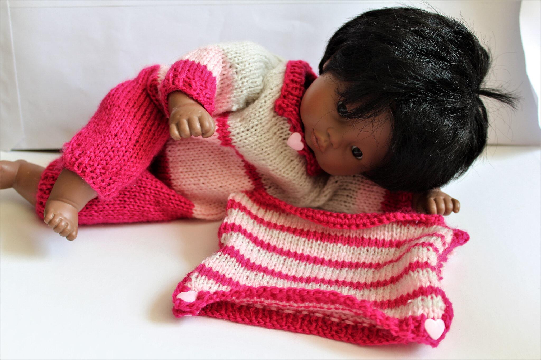 Ensemble pour poupée ou poupon de 30 cm