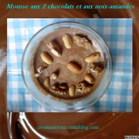 MOUSSE 2 CHOCOLATS