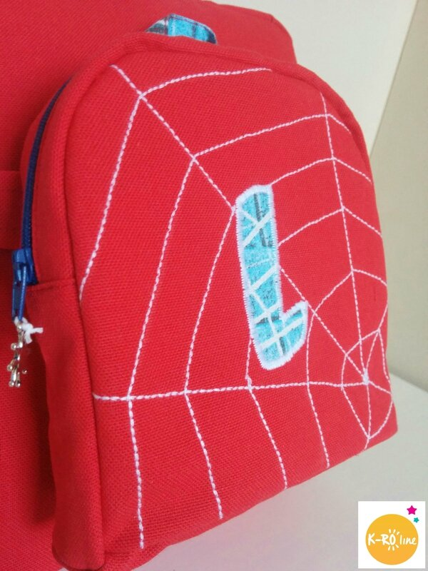 Sac à dos spiderman 6 bis