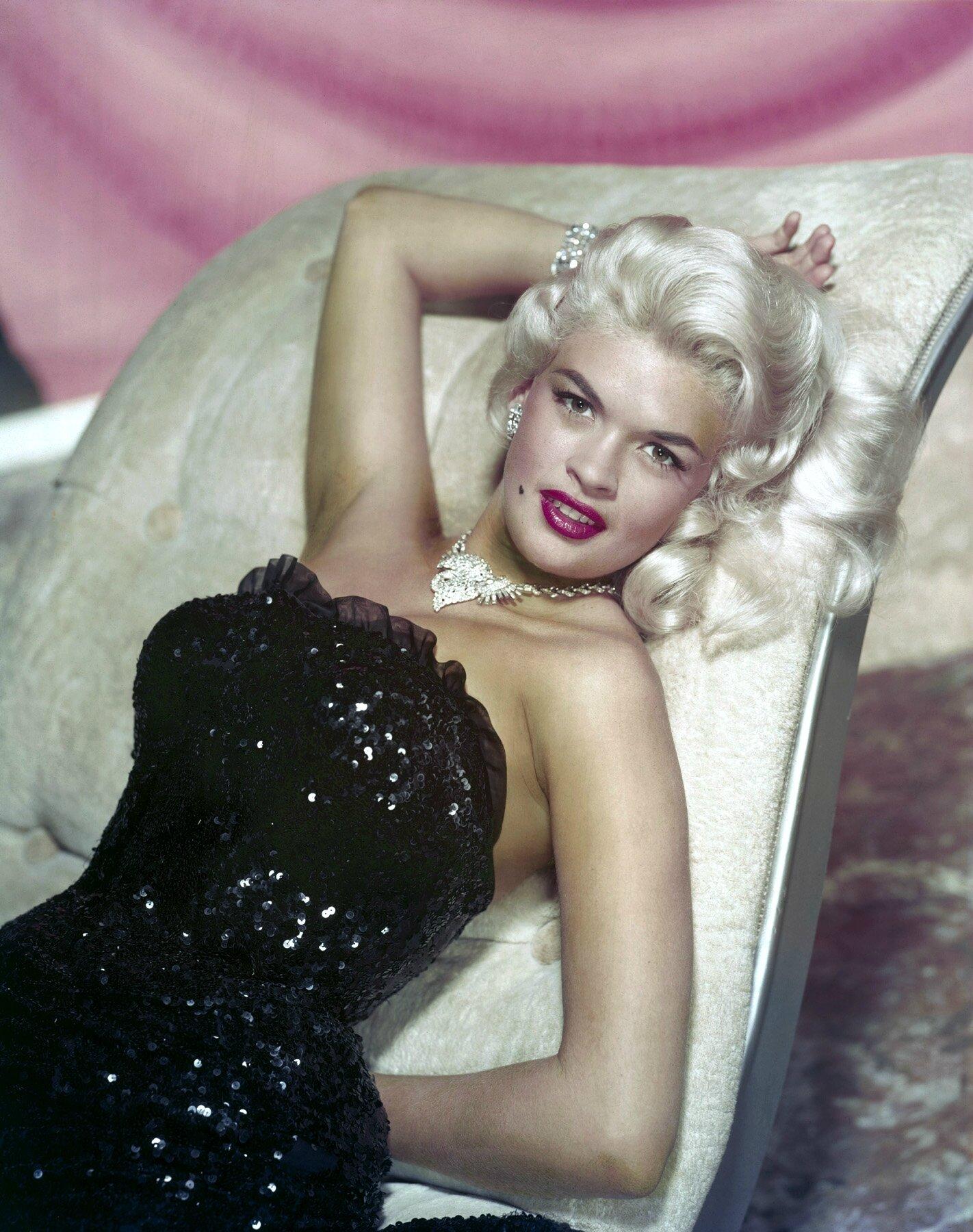 jayne-1957-studio_portrait-black_strass_dress-1