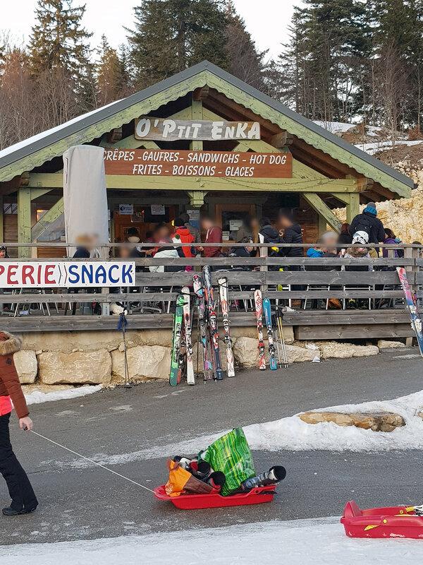 Col de la Faucille - Céline-