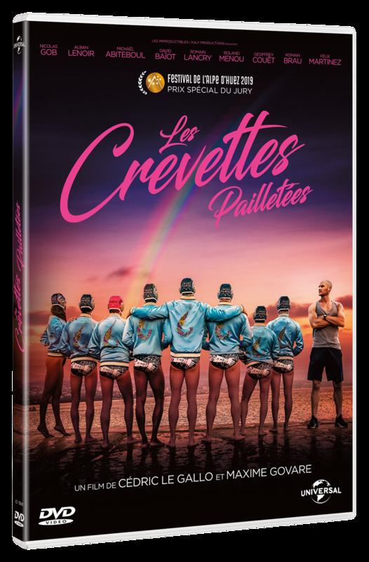 DEF 3D DVD_LES CREVETTES PAILLETÉE