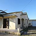 Villa de plain pied avec 875 m2 de terrain