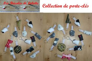 collection de porte-cles mai 2011