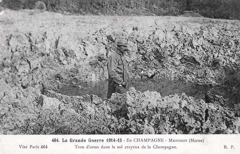 Massiges, Marne, 1915