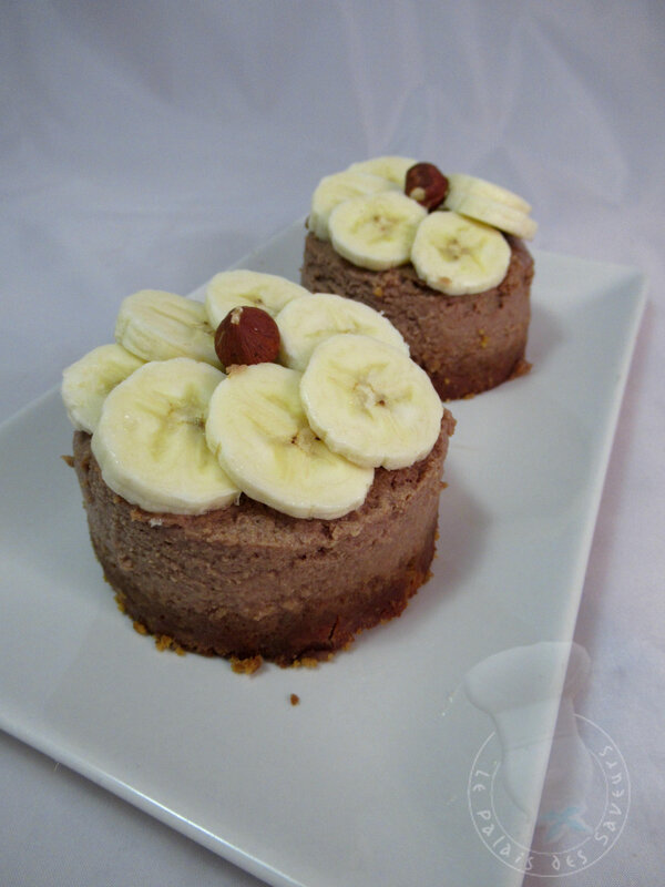Cheesecake banane Nutella