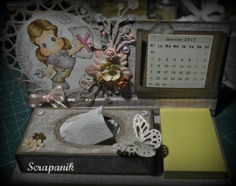calendrier Magnolia