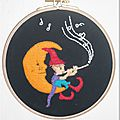 Tambours décorés