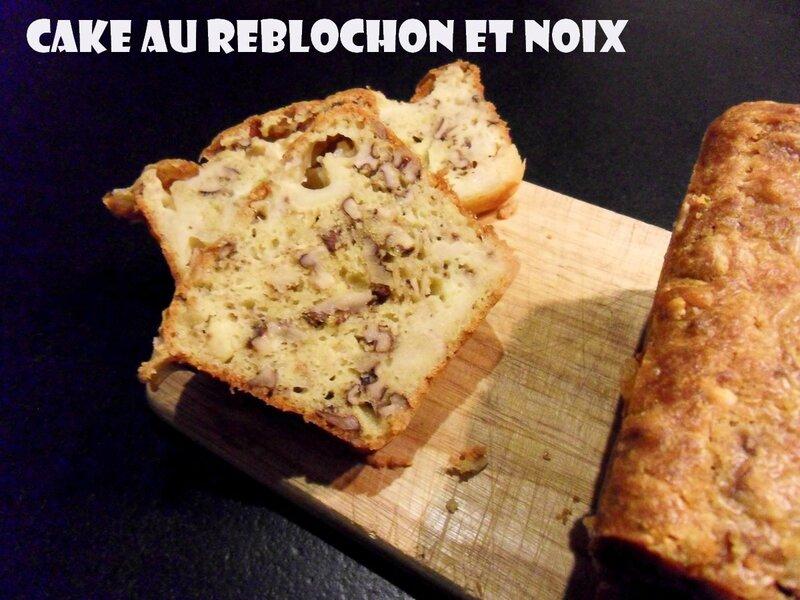 cake au reblochon et noix1