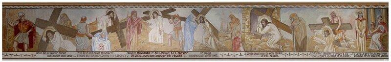 André Seurre fresque chemin de croix partie 1 (3)Séderon