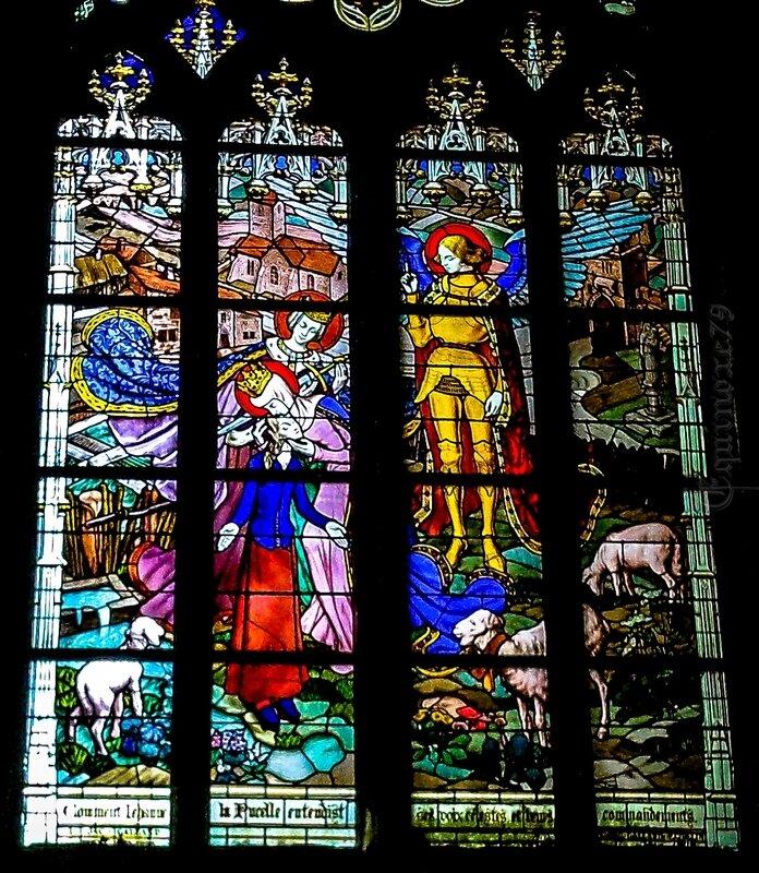jeanne d' Arc Cathédrale Sainte-Croix d'Orléan (4)
