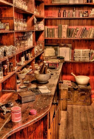 Witch's cabinet :))