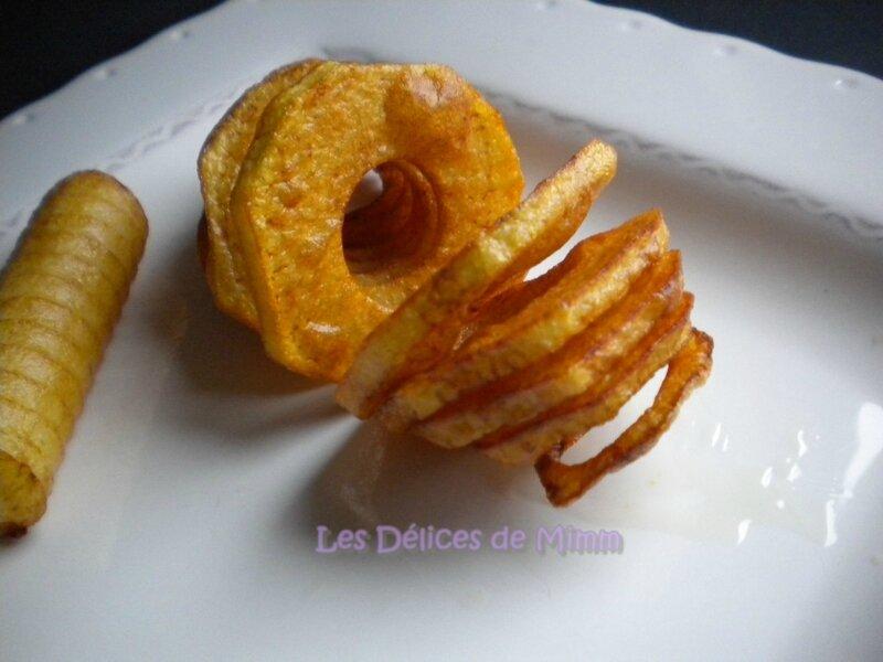 Pommes de terre en spirales 2