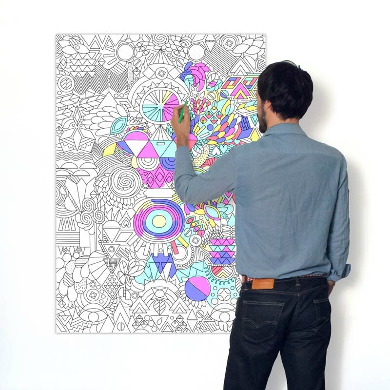 poster omy patchwork