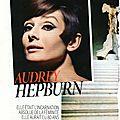 Portrait biographique de audrey hepburn dans