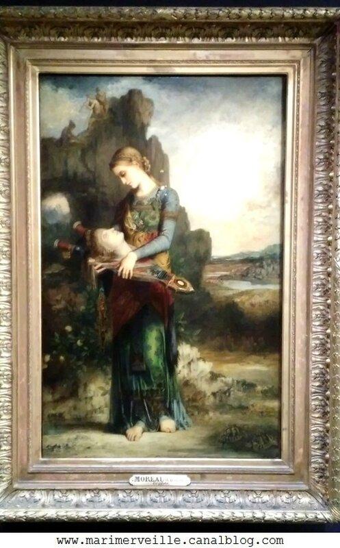 Orphée Gustave Moreau - Musee d'Orsay - Marimerveille