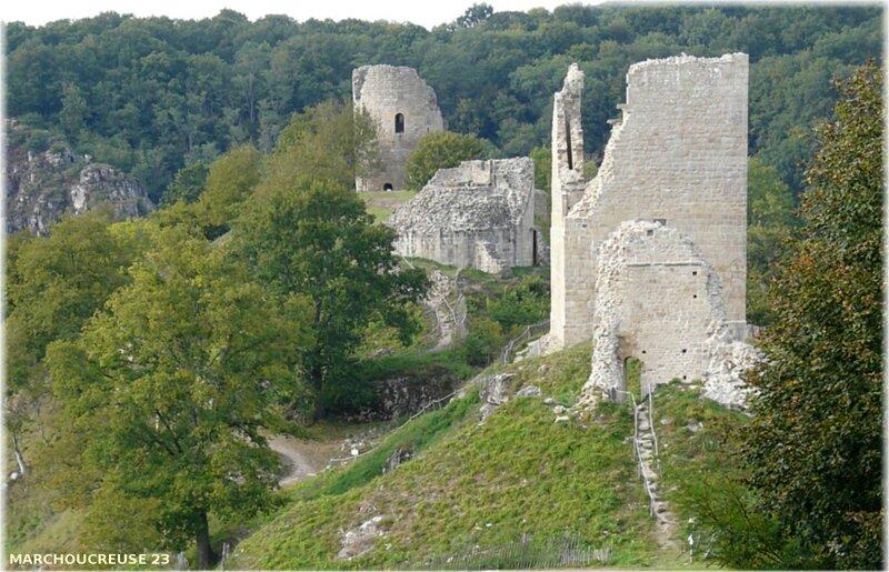 forteresse de Crozant