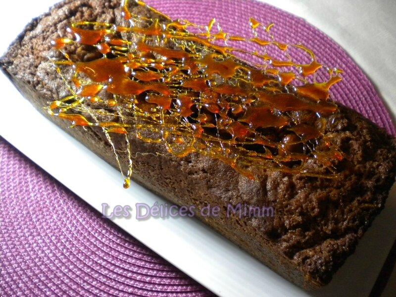 Cake moelleux et fondant à la farine de châtaignes 1