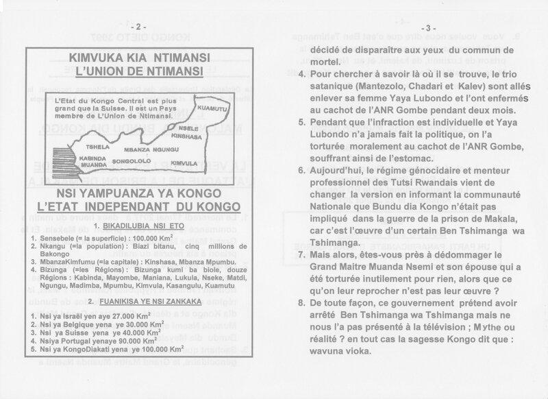 LA VERITE SUR LES EVENEMENTS SUR L'ATTAQUE DE LA PRISON DE MAKALA b