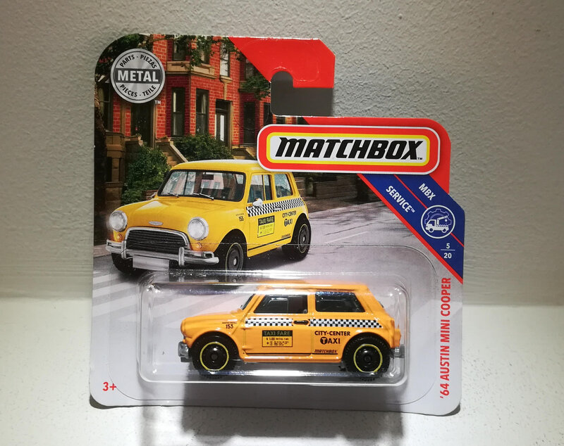 Austin Mini Cooper de 1964 (Matchbox)