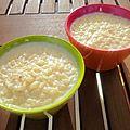 Riz au lait crémeux