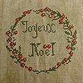 Grille joyeux noël free + lien