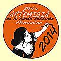 Prix artémisia : les nominés 2014