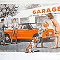 Collection ... série de 3 affiches le garage / le lait
