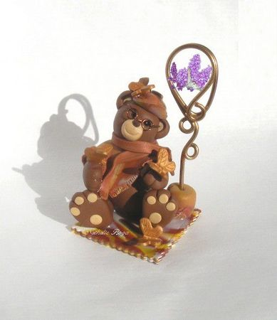 romeo ours fimo nathalie roger 1