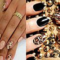 Manicure: style leopard