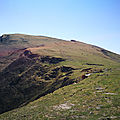 Iparla, arrivée sur le plateau herbeux (64)