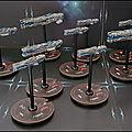 Fleet commander - deuxième flotte rebelle et plans sur la comète