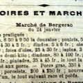 1909 : si on allait faire son marche ........