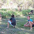 dans le camping de Woolgoola